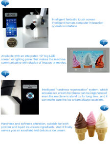 Enjoy 3.0tt - Fully Automatic Ice Cream Machine for Ocs & Ho. Re. Ca pictures & photos