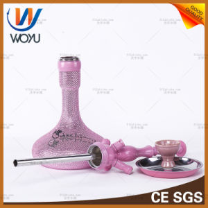 Zinc Alloy Material Hookah Water Pipe Glass Shisha pictures & photos