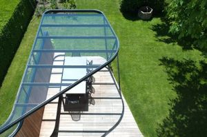 Glass and Steel Structure Composition Canopy pictures & photos