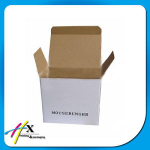 Corrugated Custom Cardboard Apple Cosmetic Jewelry Packing Logo Printing Box pictures & photos