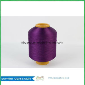 Polyester Filament Yarn DTY, Dope Dyed Polyester Yarn DTY, in Home Textile for Carpet pictures & photos