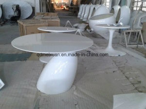 Fashion Mushrooms Small Round Tea Table Coffee Tea Table a Few White Mushroom Tea Table (M-X3742) pictures & photos
