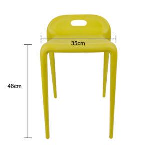 Classic Furniture Top Supplier Classic Design Plastic Horse Chair pictures & photos