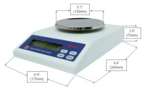 500g 0.01g Weighing Balance with Load Cell pictures & photos
