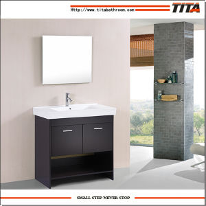 High Quality Ceramic Basin Bathroom Cabinet T9127-24e pictures & photos