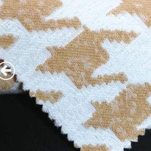 Fashion Big Bird Spandex Bright Color of Jacquard Fabric pictures & photos