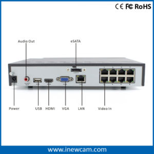Best Selling 8CH 1080P Poe CCTV H. 264 Network DVR Software pictures & photos