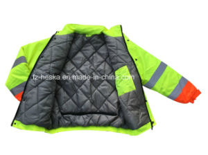 Safety Weather Waterproof Reflective Workwear Hi Vis Jacket pictures & photos