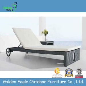 New Design UV-Resistant PE Rattan Outdoor Lounger