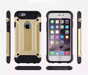 Hot Selling Mobile/Cell Phone Armor 2 in 1 TPU Case for iPhone 7 (XSDD-029)