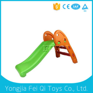 Hot Sell Indoor Kid Plastic Toy Children Slide Orang pictures & photos