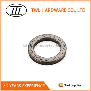 Popular Engraved Metal Flat O Ring for Strap pictures & photos