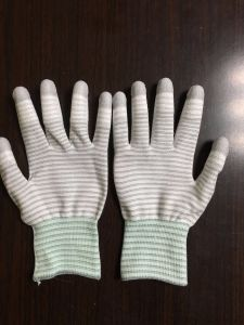 PU Coated Gloves for Cleanroom Working pictures & photos
