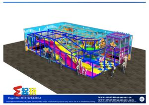 European Standard Indoor Playground with Big Discount