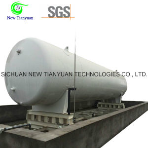 40m3 Effective Volume 0.2MPa Working Pressure Cryogenic Tank Container pictures & photos