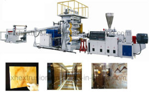PVC Imitation Marble Board Production Line pictures & photos