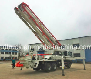 37M truck mounted concrete pump, ISUZU Concrete Pump Truck pictures & photos
