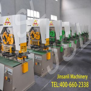 Batch Delivery Hydraulic Combined Multi-Function Ironworker with Best Quality pictures & photos