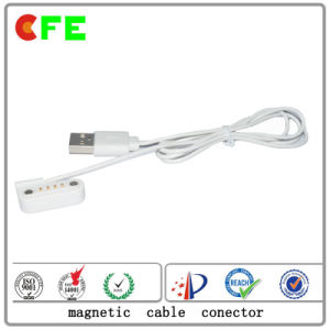 Waterproof Magnetic Power Connecter with USB Cable pictures & photos