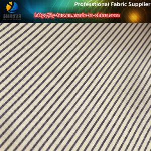 Purple/Brown Twill Polyester Yarn Dyed Stripe Fabric for Garment Lining (S155.184) pictures & photos