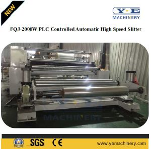 Fqj-2000W PLC Controlled Automatic High Speed Slitting Machine pictures & photos