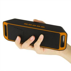 Sc208 Bluetooth 3.0 Portable Wireless Speaker TF USB FM Radio Dual Bluetooth Speaker Bass Sound Subwoofer Speakers pictures & photos