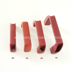 China Factory Red Plastic Wardrobe Handle pictures & photos