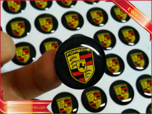 Printed Sticker Rubber 3m Sticker Gift Silicone Sticker pictures & photos
