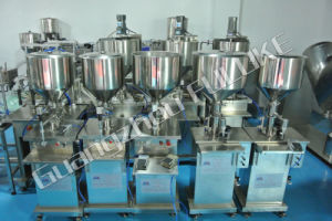 Fuluke pneumatic Type Bottle Water Filling Machine /Grease Filling Machine pictures & photos