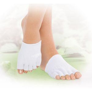 Therapeutic Gel Toes Exfoliating Scrub Toe Socks pictures & photos