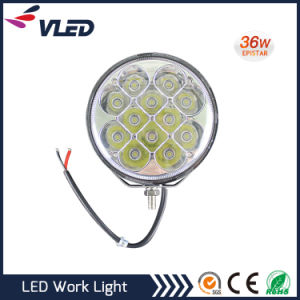 36W off-Road Vehicle CREE LED Work Light Bar Round pictures & photos