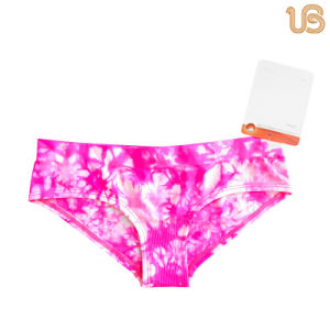 Women Printed Brief Panty pictures & photos