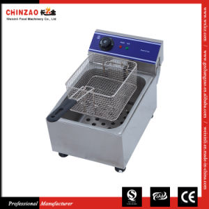 Brand New Commercial 10L Single Electric Deep Fryer Stainless Steel Benchtop pictures & photos