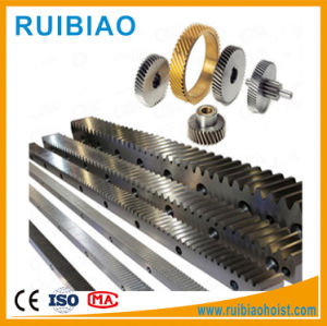 Steel Automatic Gate Rack and Pinion Gear for Construction Hoist pictures & photos