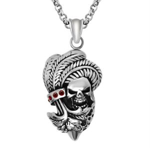 Punk Skull Men Necklace Pendant 316L Stainless Steel Fashion Jewellery pictures & photos