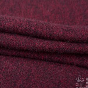 Wool/Cotton Fabric, Thick for Winter in Red pictures & photos