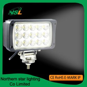LED Working Lights Spot Flood Beam 45W 14PCS*3W Epistar Auto Accessories pictures & photos