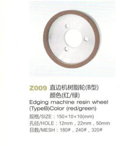 Z009 Edging Machine Resin Wheel Color Red Green pictures & photos
