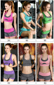 Sports Suit High Quality Summer Leggings and Crop Tops with Your Own Logo pictures & photos