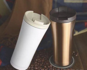 2017 Promotional Premium Foodgrade Plastic Insulated Travel Vacuum Mug pictures & photos