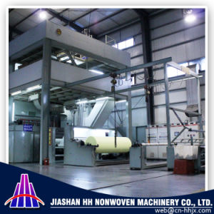 Fine Quality 1.6m SMS PP Spunbond Nonwoven Fabric Machine pictures & photos