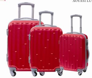 ABS Trolley Case in Zipper Style pictures & photos