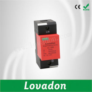 LC-100 Surge Protection Device SPD Lightning Protector for Power Supply System pictures & photos