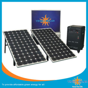 600W Home Use Solar Power Generator System with Solar Panel pictures & photos