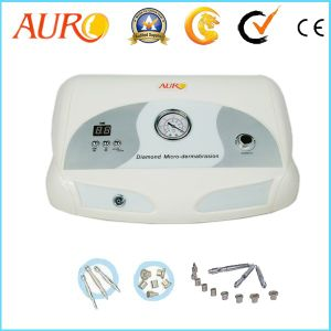 Au-3012 Diamond Microdermabrasion Facial Beauty Instrument for Skin Peeling with 9 Tips pictures & photos
