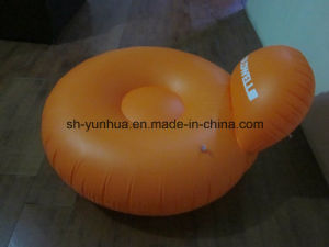 Inflatable Toys Inflatable Pillow-Back Lounge Double Ring Float pictures & photos