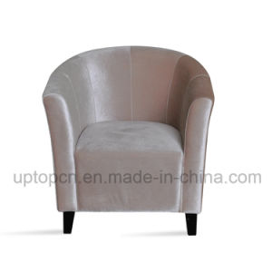 Living Room Furniture with Comfortable Fabric Upholstery and Solid Wooden Chair Base (SP-HC570) pictures & photos