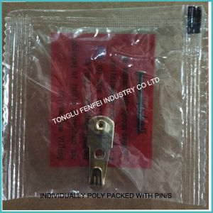 20lb Classtic Brass Wall Hanger with Nail pictures & photos