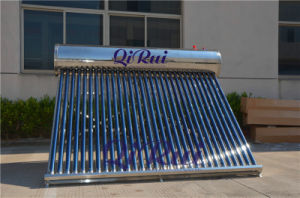 Stainless Steel High Efficiency Solar Water Heater with Ce Approval pictures & photos