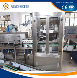 Automatic Beverage Bottle Shrinking Labeling Machine pictures & photos
